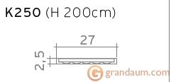 Пилястра Orac Decor K250