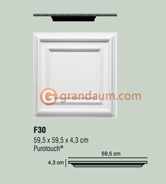 Потолочная плита Orac Decor F30