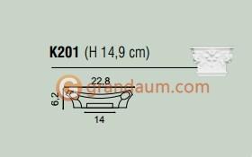 Пилястра Orac Decor K201