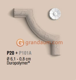 Угловые элементы и вставки Orac Decor P20