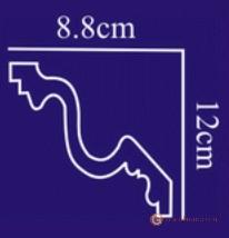 Карниз с гладким профилем Солид AB111
